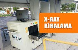 X Ray Kiralama