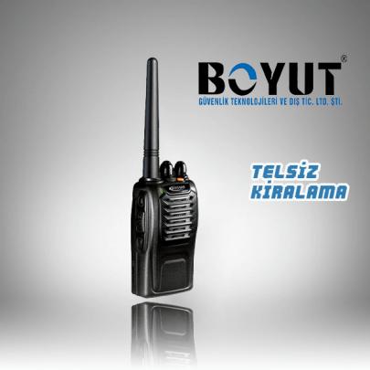 PT 558S Model El Tipi Telsiz